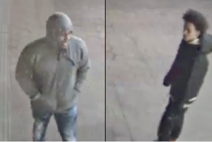 Police are searching for two persons of interest in relation to the shooting at Minnesota Avenue Metro station. (Photo courtesy of MTPD)