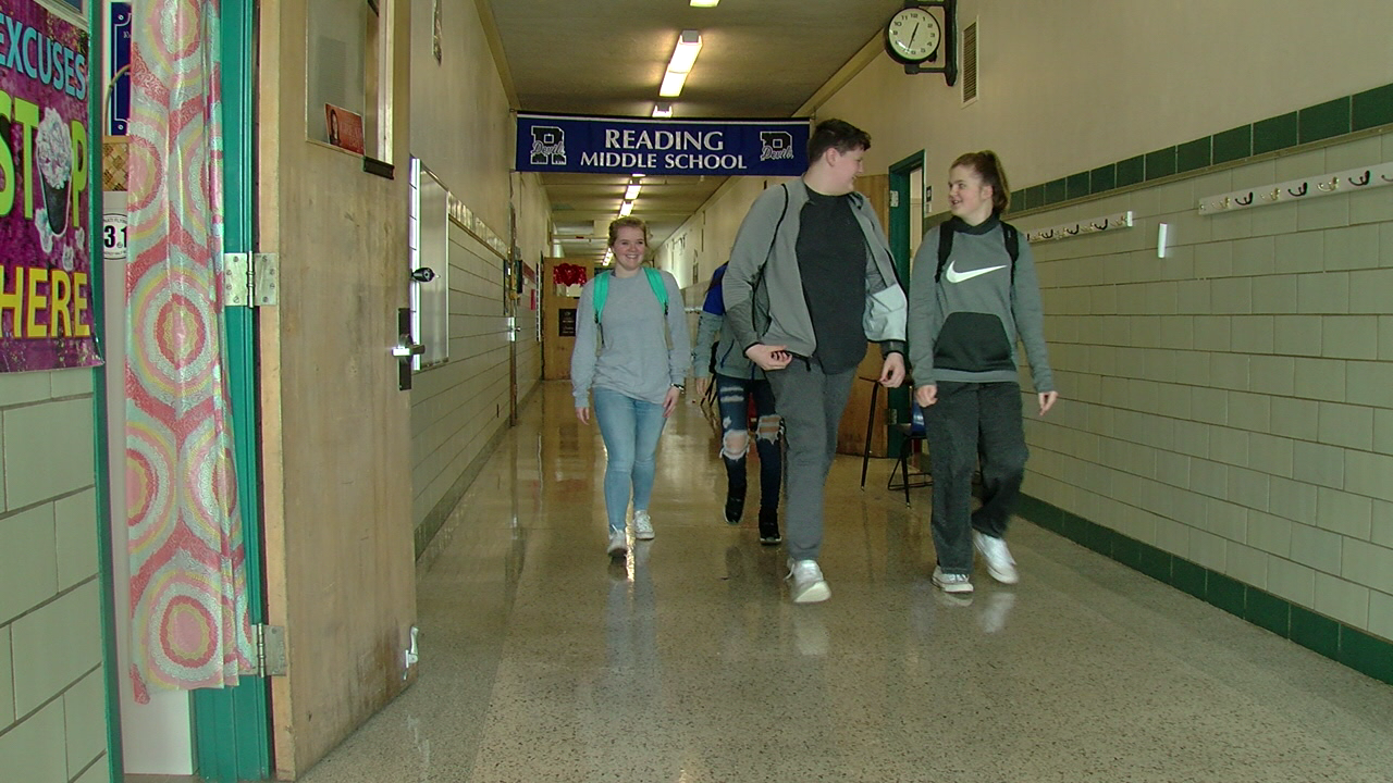 "Making a ""hardened school"": New security features at Reading school (WKRC)"