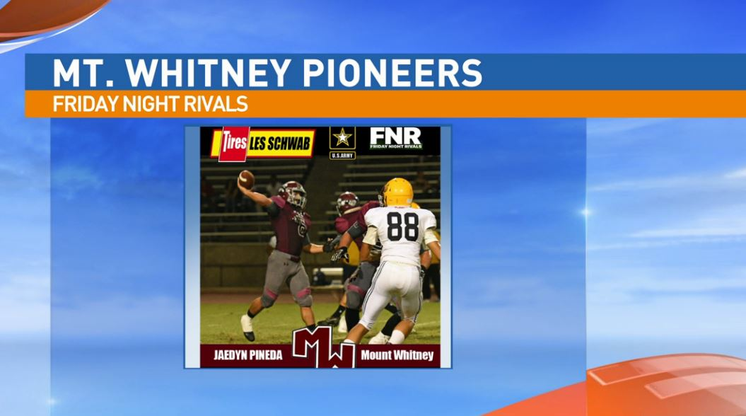 Mt. Whiteny Pioneers player to watch