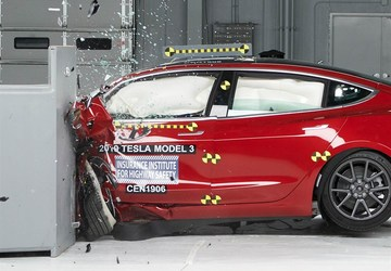 Tesla Model 3 finally earns IIHS Top Safety Pick+ award