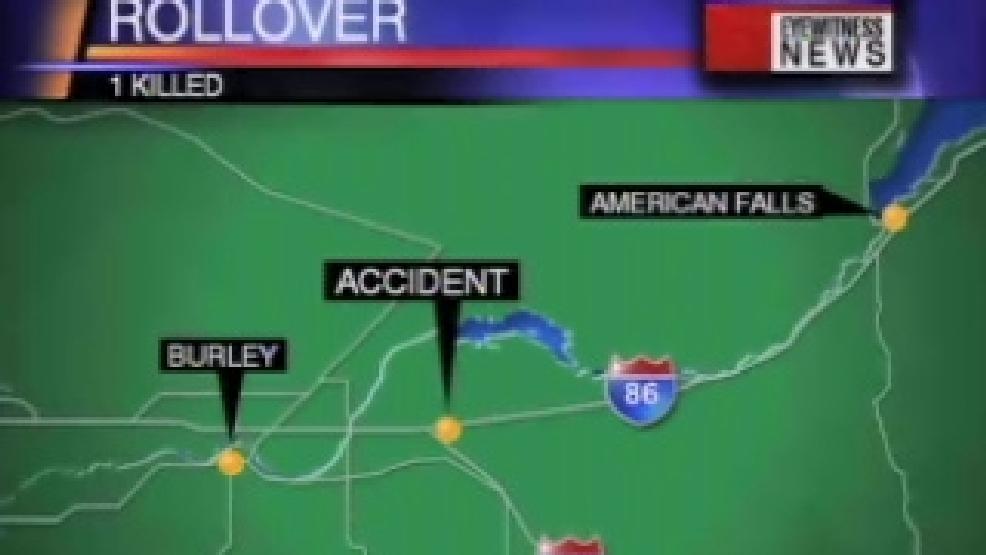 Man dies in freeway rollover near Burley   KBOI