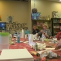 Female vets in Nebraska paint to relieve stress