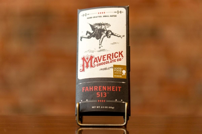 Maverick Chocolate offers chocolate from a variety of countries and with a few added flavors.  --  Image: Daniel Smyth Photography