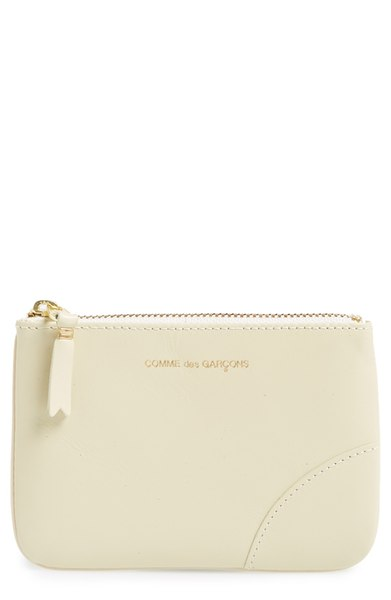 CDG Small Classic Leather Zip-Up Pouch, $99 (Photo: Nordstrom)