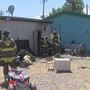 Firefighters put out storage fire within minutes