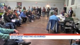 Hoosick Falls residents angered when PFOA meeting is adjourned without settlement vote