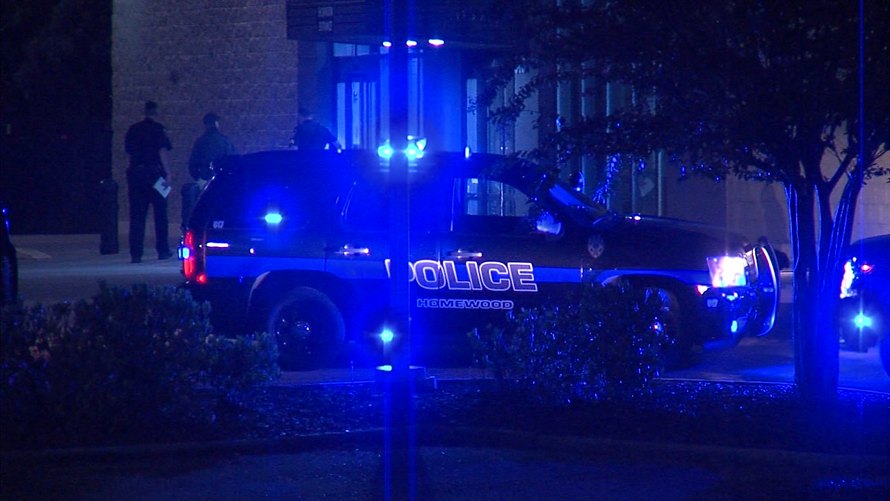 A Homewood Police officer was in serious condition Thursday after authorities say he was shot by a runaway suspect. (Alan Baker | abc3340.com)