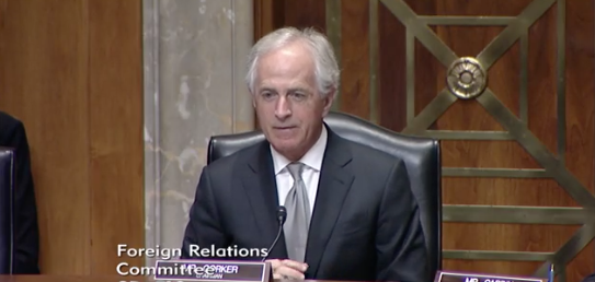 Photo: Senate Foreign Relations Committee / Committee Chairman Bob Corker, R- Tenn<p></p>