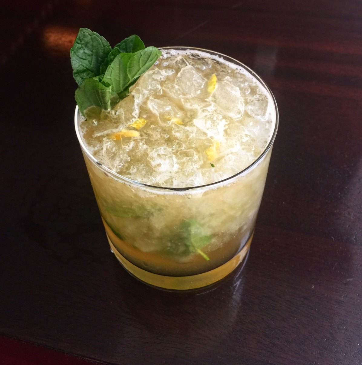 RARE Steakhouse and Tavern Clover'd Julep (Image:{ }RARE Steakhouse and Tavern)
