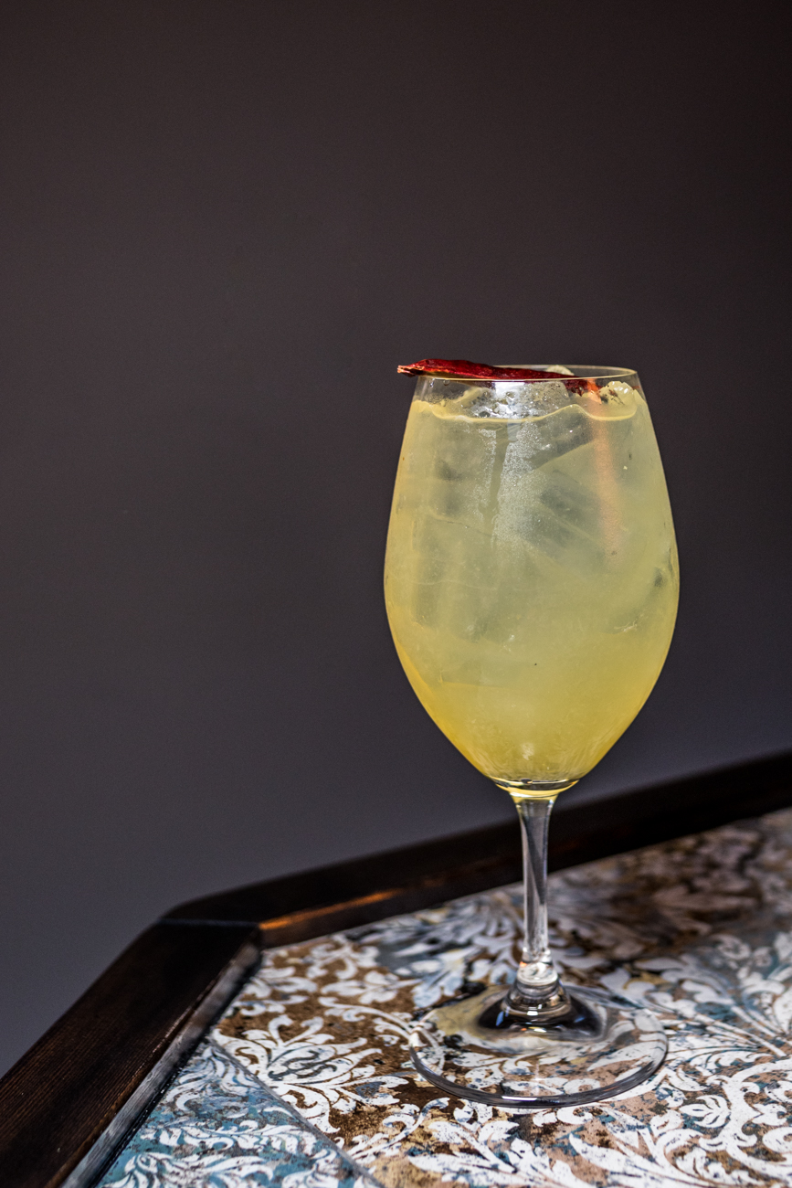 Mango Margarita: tequila, fresh lime, and mango-chili soda / Image: Catherine Viox{ }// Published: 1.23.20