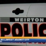 Weirton facing lawsuit from former policeman