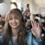 Gigi Hadid draws crowds to Tommy Hilfiger space in Milan