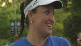 Woman runs 2 marathons in 1 day, honors brother who died in service
