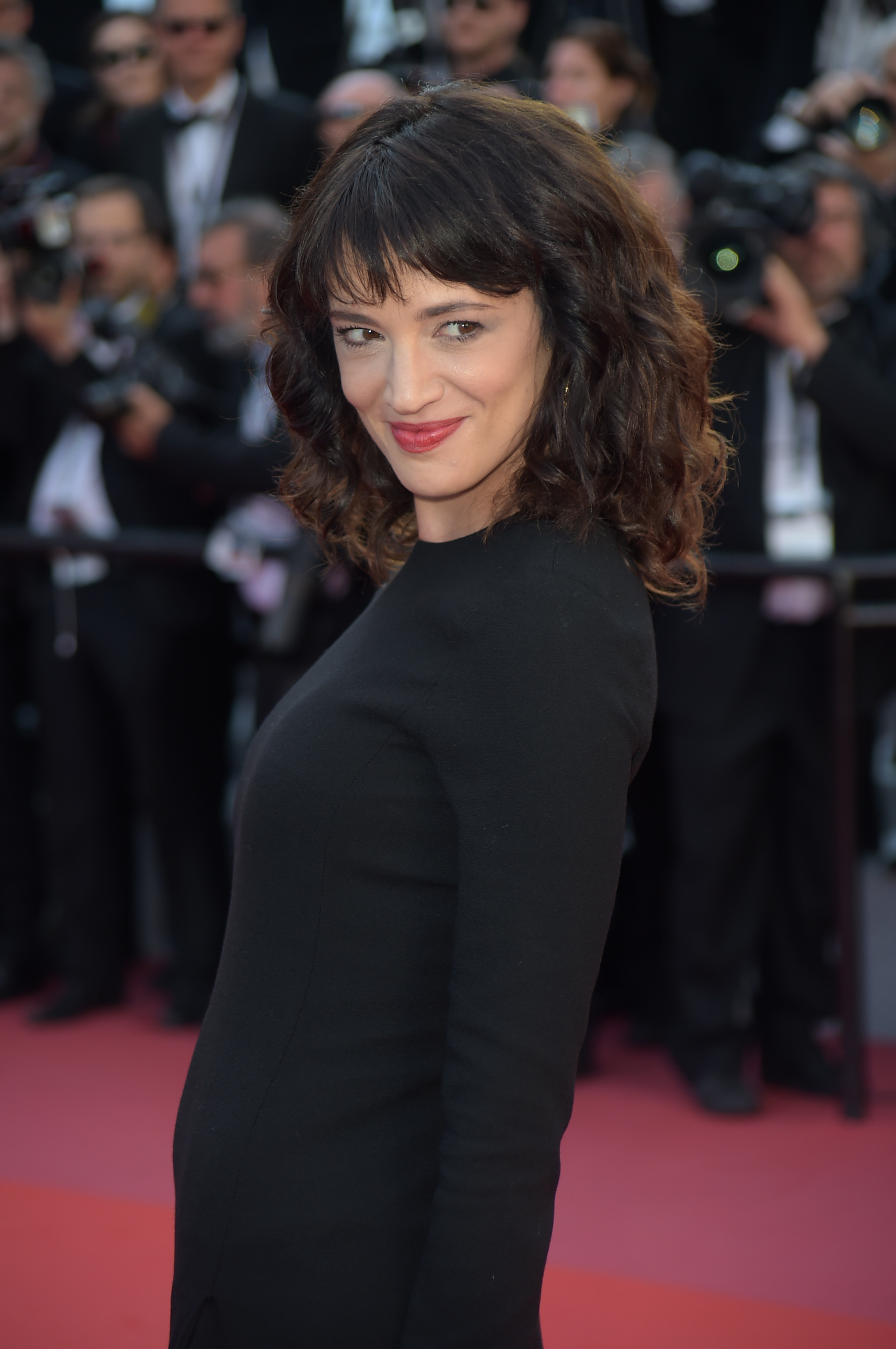 Asia Argento at the 71st annual Cannes Film Festival - 'The Man Who Killed Don Quixote' - Photocall. When: 19 May 2018 Credit: IPA/WENN.com