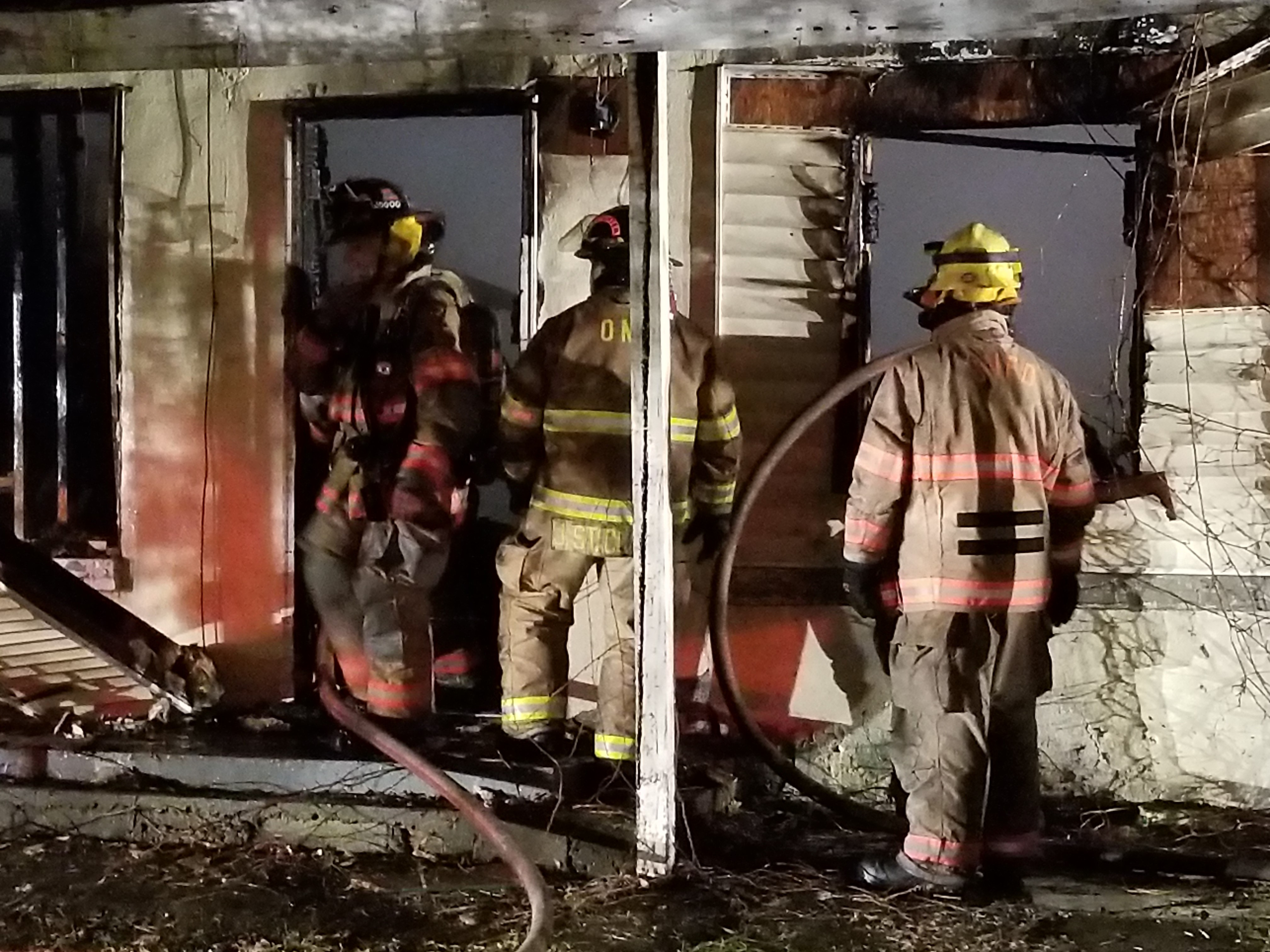 Four fire departments responded to a house fire in Barboursville early Tuesday morning. (WCHS/WVAH)