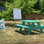 Scotia church celebrates first year of its turquoise table