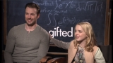 Best Friends: Chris Evans and Mckenna Grace bond over 'Gifted'