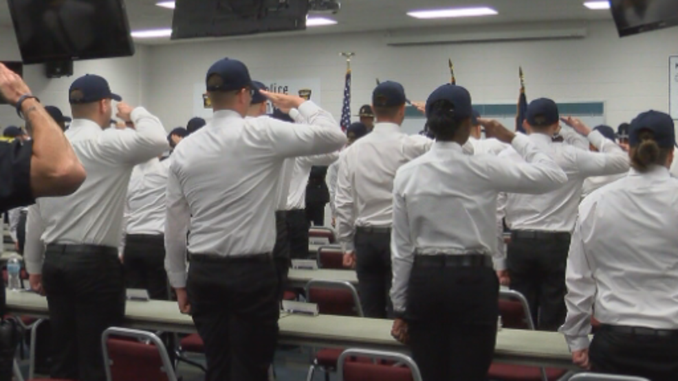 Toledo Police welcomes third academy class in three years
