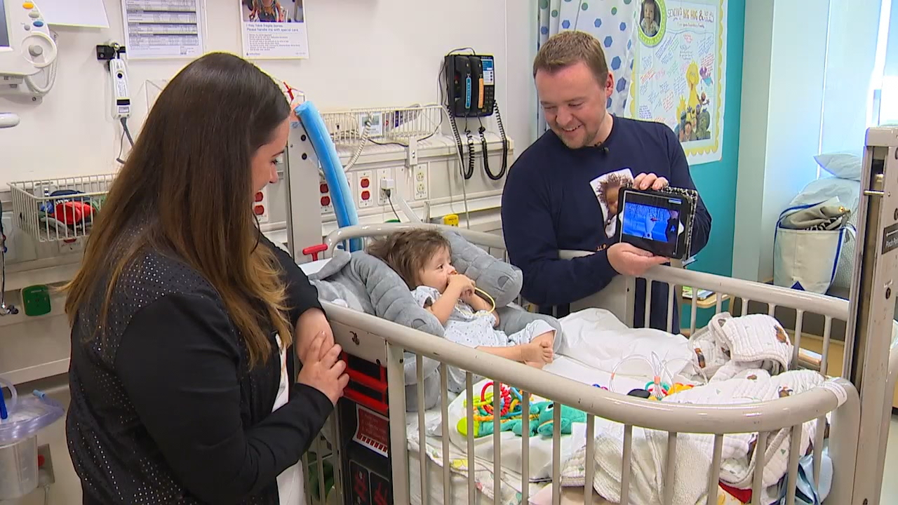 Little Hudson Hill needed a liver transplant. (Photo: KOMO News)