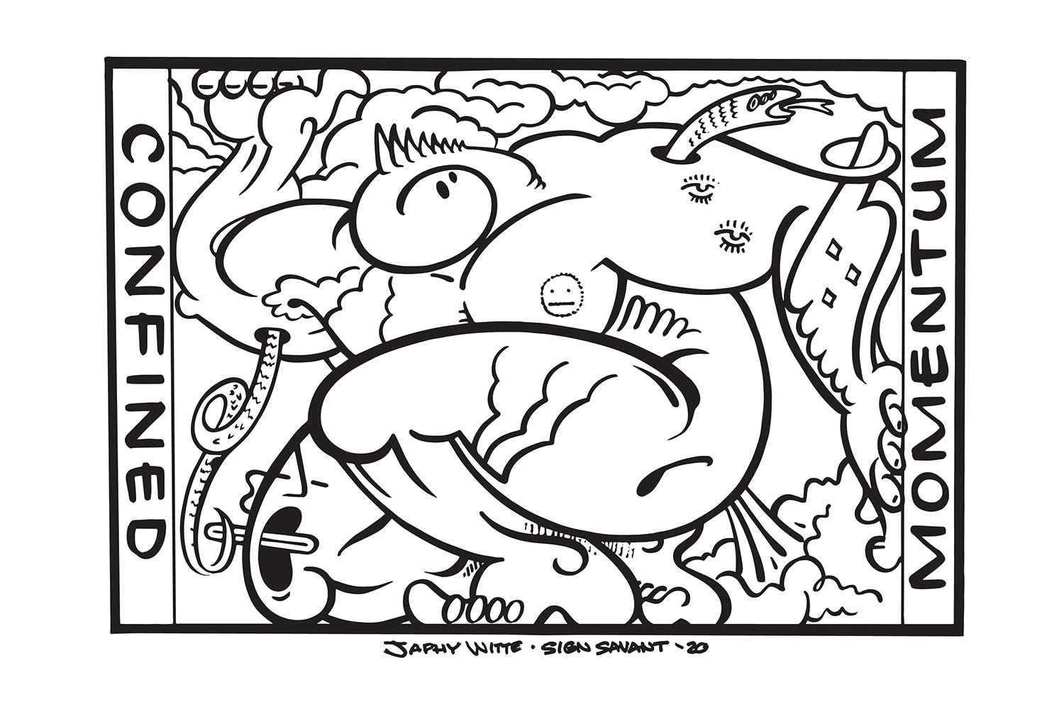 "Whether you're looking for something other than Netflix to do or something to keep your little ones entertained, what better way to pass the time than to color?! Artists in Seattle have created free coloring pages you can download and print right at home! You can not only get to know some local artists but also keep your mind engaged in a different way during quarantine. Pages can be downloaded from&nbsp;<a href=""https://stayinsidethelines.co/"" target=""_blank"">stayinsidethelines.co</a>. Make sure to tag&nbsp;<a href=""https://www.instagram.com/Stayinsidethelinesseattle/"" target=""_blank"">@StayInsideTheLinesSeattle&nbsp;</a>and use&nbsp;<a href=""https://www.instagram.com/explore/tags/stayinsidethelinessea/"" target=""_blank"">#STAYINSIDETheLinesSEA&nbsp;</a>when posting to social media! (Image:&nbsp;@SignSavant)"