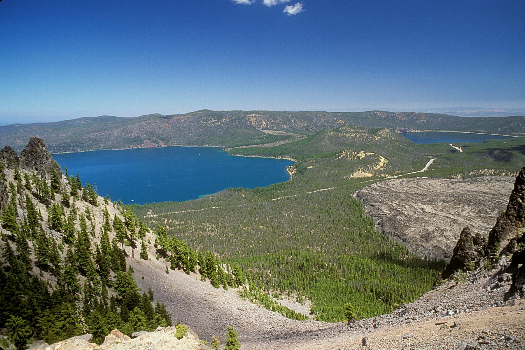 Newberry National Volcanic Monument in Central Oregon (USDA Forest Service)