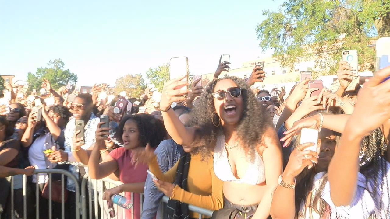 Yardfest kicks off Howard University's homecoming weekend with star-studded lineup (ABC7)