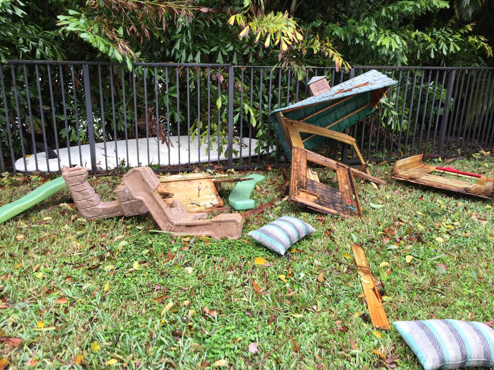 ef 0 tornado likely hit boynton and delray damage scattered wpec