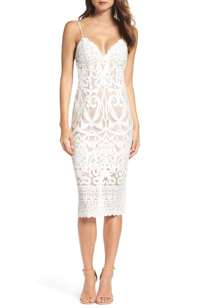 Bardot Gia Lace Pencil Dress, $159, Nordstrom.com (Image: Courtesy Nordstrom)