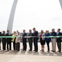 "Were No Black Leaders Invited To Gateway Arch Ribbon-Cutting? ""Do-Over"" Photo Planned"