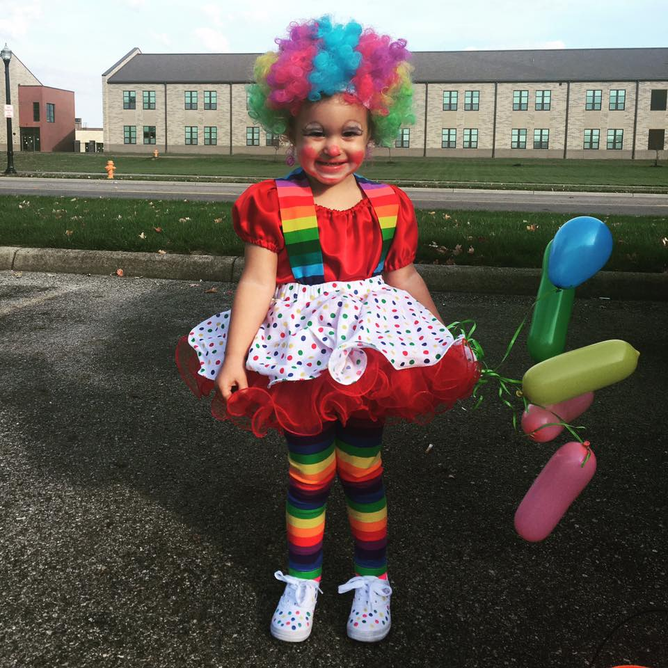 Clown. Submitted by Alisha Renee McLain