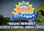 "Summer of Fun ""Making Memories"" Greatest Camping Photo Contest"