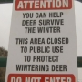 Foothills sections closed due to wildlife foraging this winter will open May 1