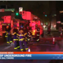 Officials on the scene of an underground fire in downtown Baltimore