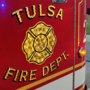 Firefighters work to put out house fire in east Tulsa