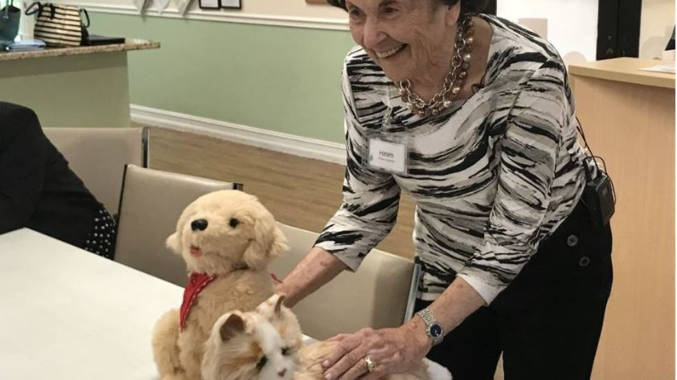 Robotic pets being used to help Alzheimer's patients | WPEC