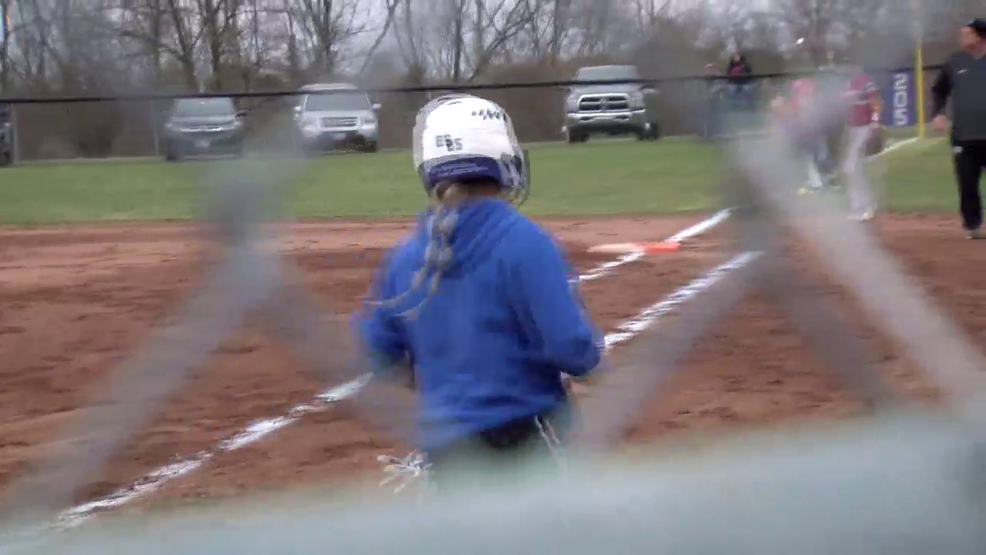 4.5.19 Highlights - St. Clairsville vs Harrison Central - high school softball