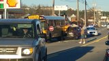 School bus involved in crash on E. Brainerd Road in Chattanooga Wednesday morning
