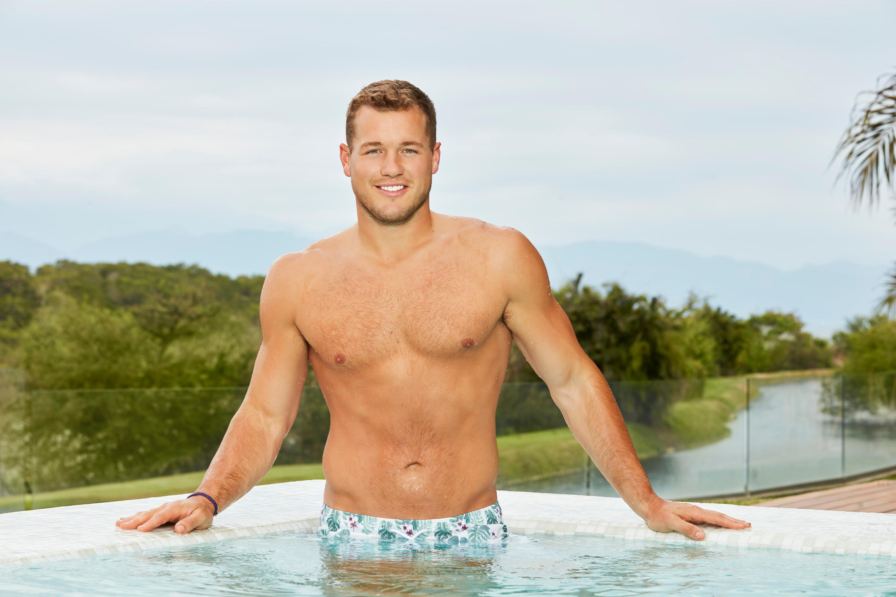 On to happier times for Colton... let's talk about Paradise! (Image: ABC/Craig Sjodin)