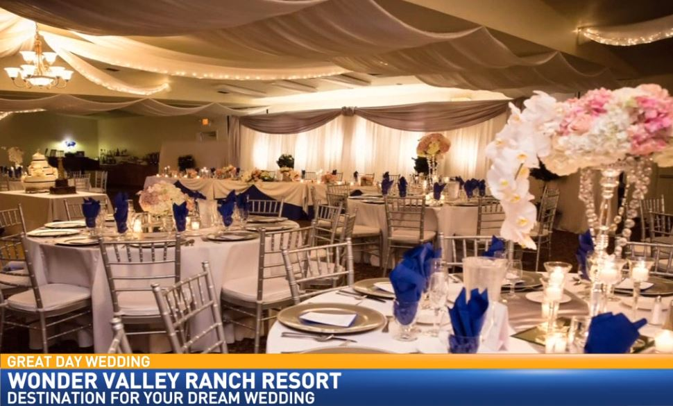 Wedding Reseption at Wonder Valley Ranch Resort