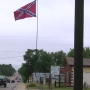 Some angry over Confederate flag flying high in Hartsville community