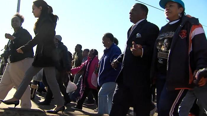 Edmund Pettus Bridge Crossing Jubilee in Selma on Sunday, March 3, 2013.