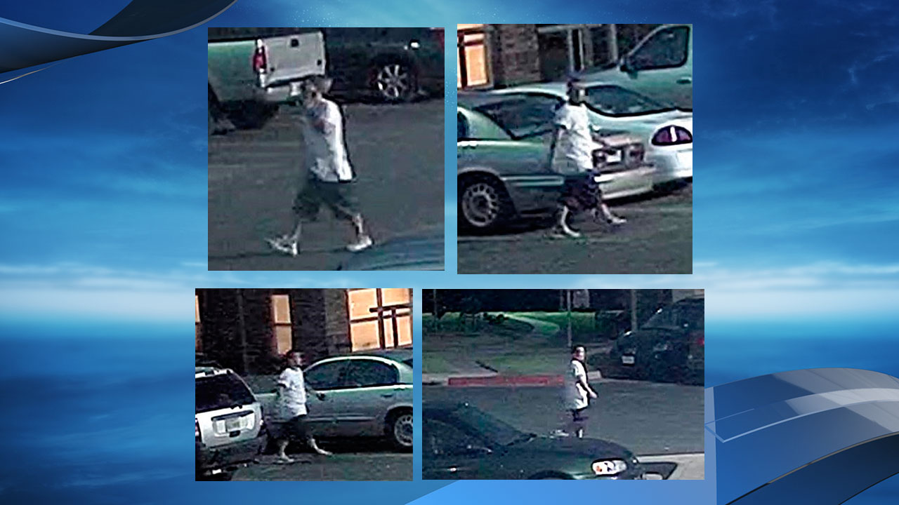 The Austin Police Department is seeking the public's help identifying a suspect in an attempted kidnapping in East Austin last month. (Photos/video: Austin Police Department)