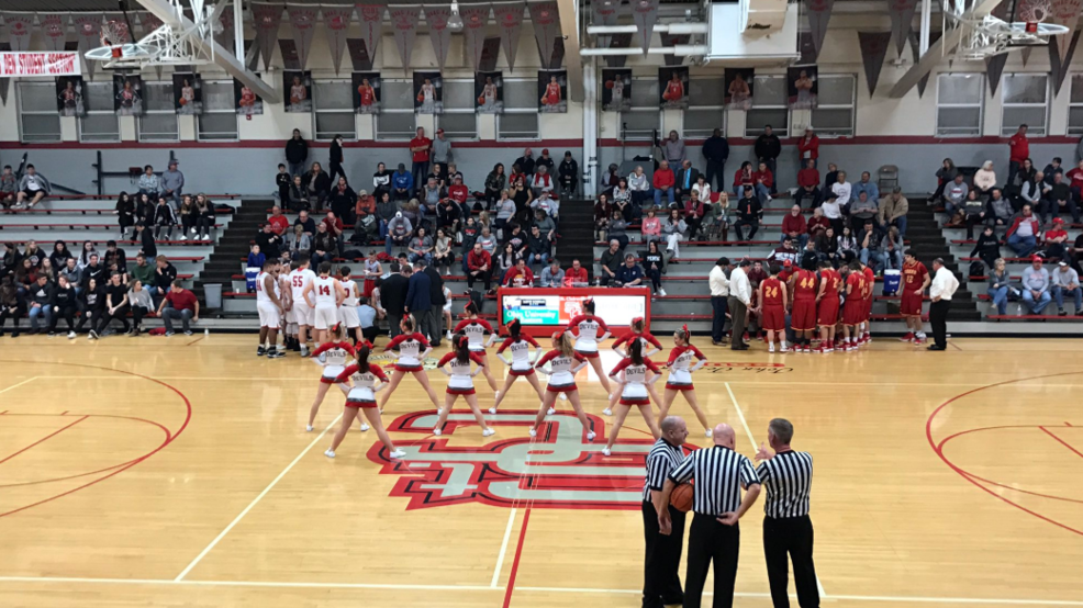 1.8.19 Highlights: Indian Creek vs. St. Clairsville - boys basketball
