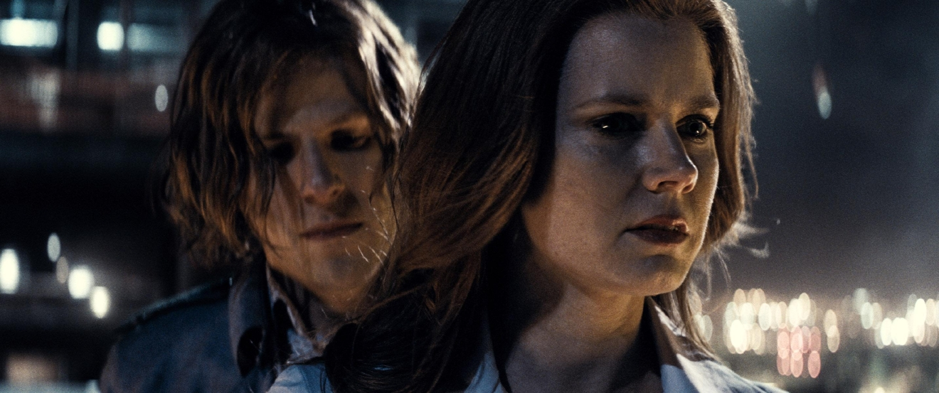 "Caption: (L-r) JESSE EISENBERG as Lex Luthor and AMY ADAMS as Lois Lane in Warner Bros. Pictures' action adventure ""BATMAN v SUPERMAN: DAWN OF JUSTICE,"" a Warner Bros. Pictures release.  Copyright: © 2016 WARNER BROS. ENTERTAINMENT INC., RATPAC-DUNE ENTERTAINMENT LLC AND RATPAC ENTERTAINMENT, LLC  Photo Credit: Courtesy of Warner Bros. Pictures/ TM & © DC Comics"