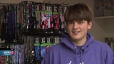 This teen made a million bucks selling socks out of his backyard