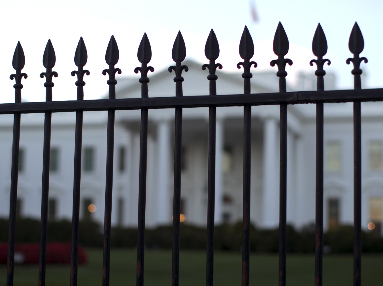 White House placed on brief lockdown after suspicious package thrown