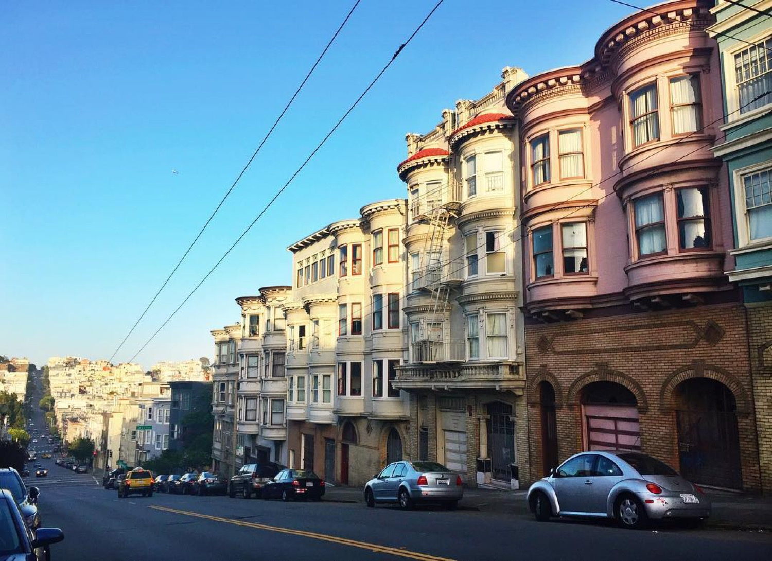 PLACE: North Beach, San Francisco / MILES FROM CINCY: 2,385 / ABOUT: The ethnic populations that once had North Beach to themselves are now joined by young professionals. The nightlife has changed accordingly, but the beautiful architecture remains. / Image courtesy of Instagram user @lovell_j // Published: 5.14.17