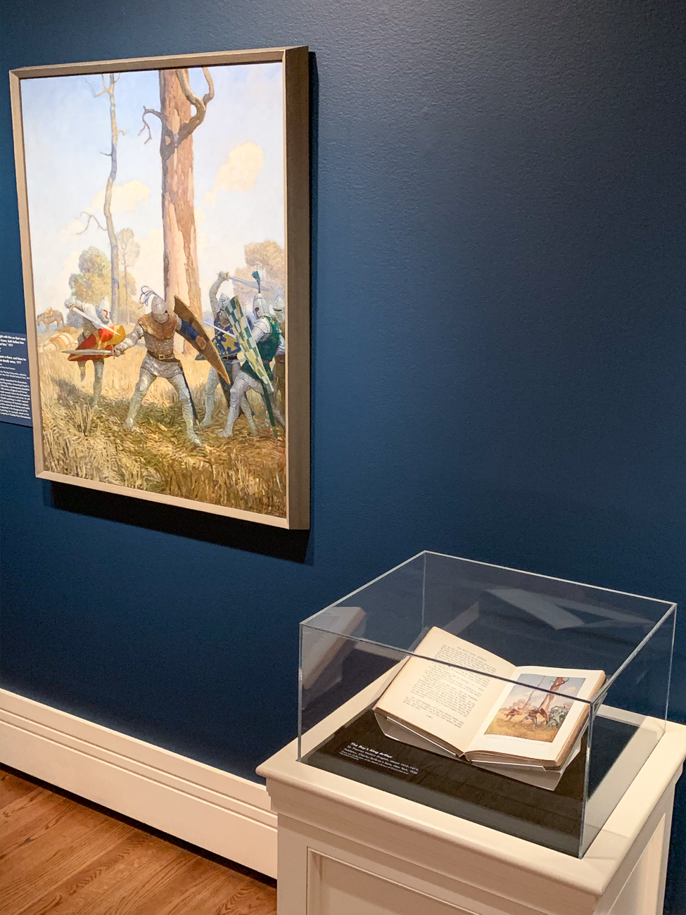 A side-by-side view of Wyeth's full-size painting alongside its scaled version for the book. / Image: Phil Armstrong, Cincinnati Refined // Published: 2.9.20