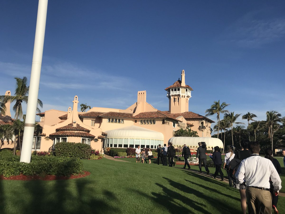 Inaugural Impeachment March to Mar-A Lago. (WPEC)<p></p>
