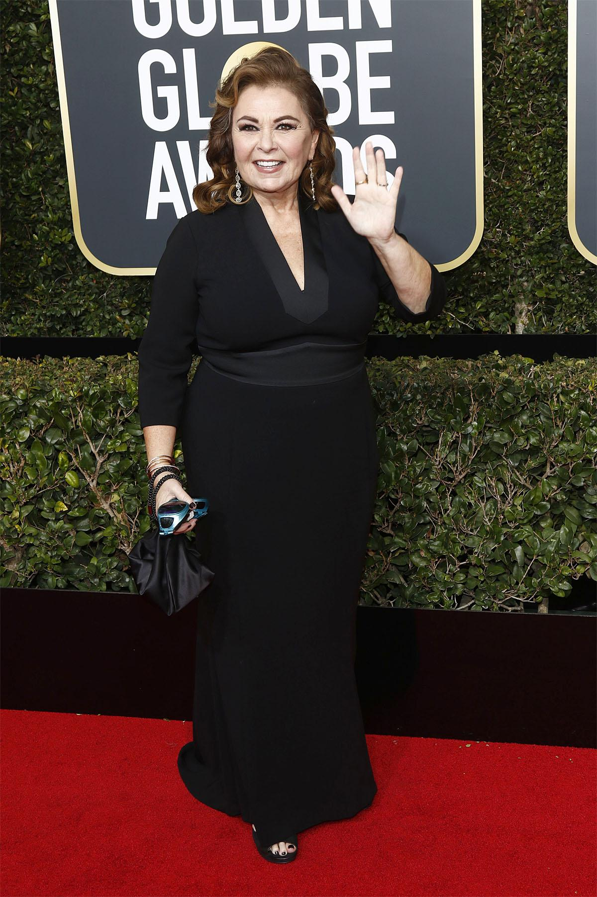 75th Golden Globe Awards held at the Beverly Hilton Hotel - Arrivals                                    Featuring: Roseanne Barr                  Where: Los Angeles, California, United Kingdom                  When: 07 Jan 2018                  Credit: Regina Wagner/Future Image/WENN.com                                    **Not available for publication in Germany**